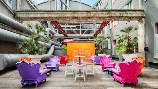 Summer Party / Terrace NHow Hotel milano tortona youparti