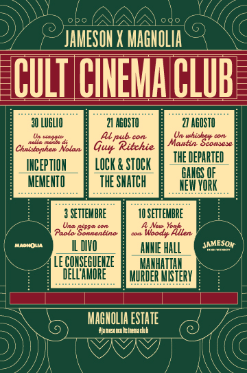 Christopher Nolan rassegna cinema a Milano