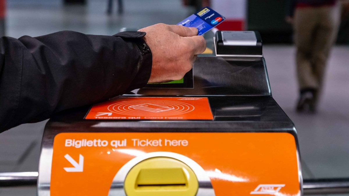 Metropolitana di Milano con carta di credito