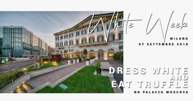 Dress White and Eat Truffle / Milano White Week savini tartufi nh moscova