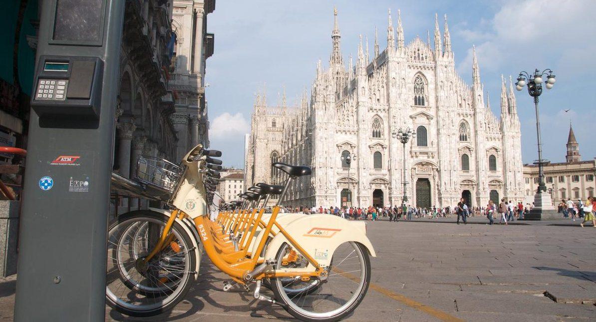 Bicicletta il mezzo scelto da Milano