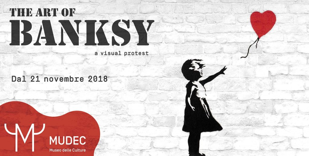 The Art of Banksy a Milano YOUparti MUDEC - Museo delle Culture