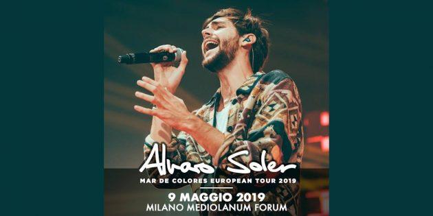 Alvaro Soler a Milano | YOUparti mediolanum forum assago