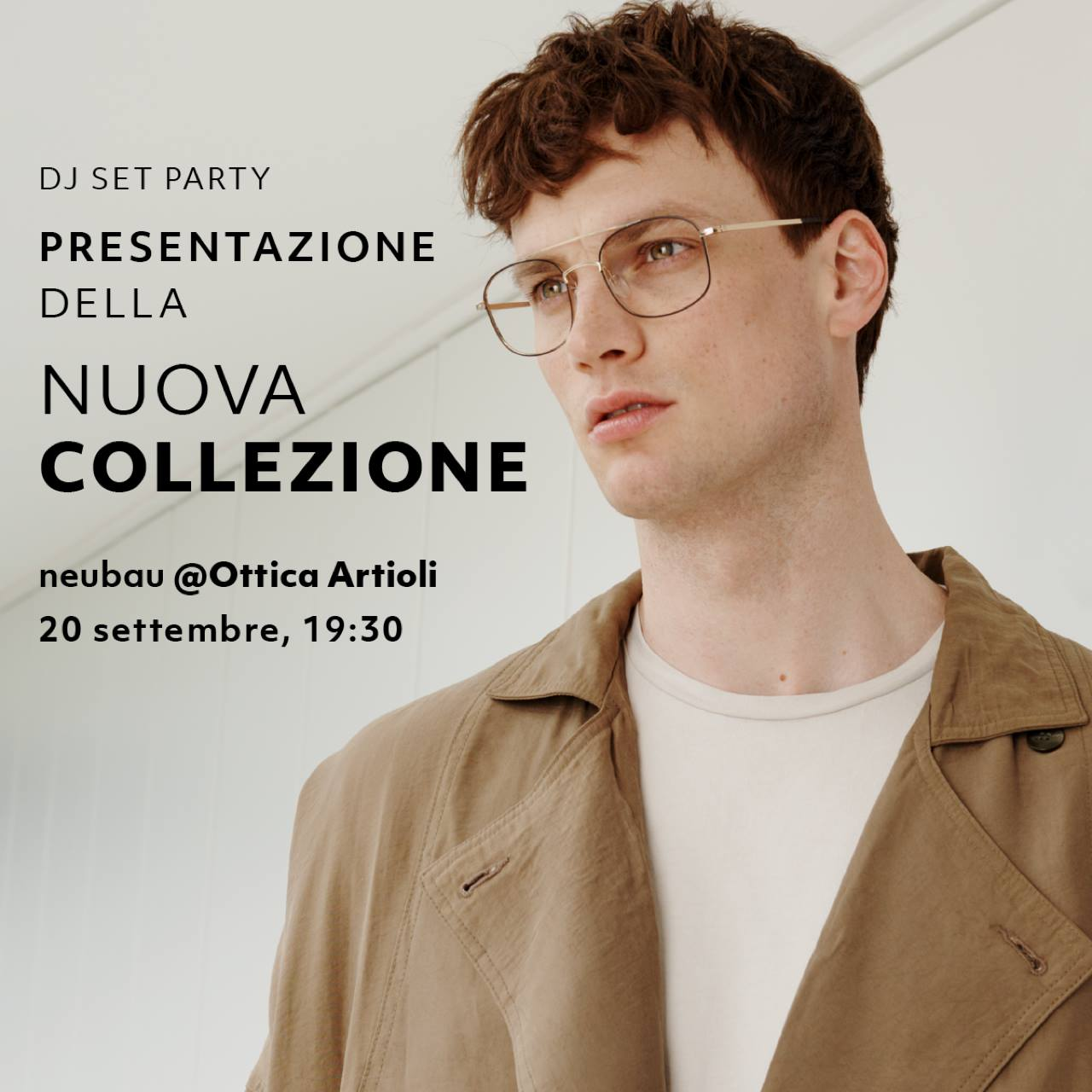 mfw18 New Collection neubau eyewear at Ottica Artioli | YOUparti milano