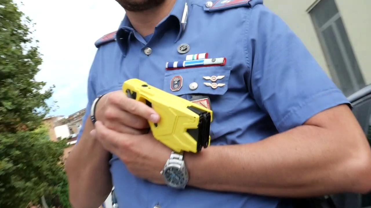 Taser in prova alle forze di polizia