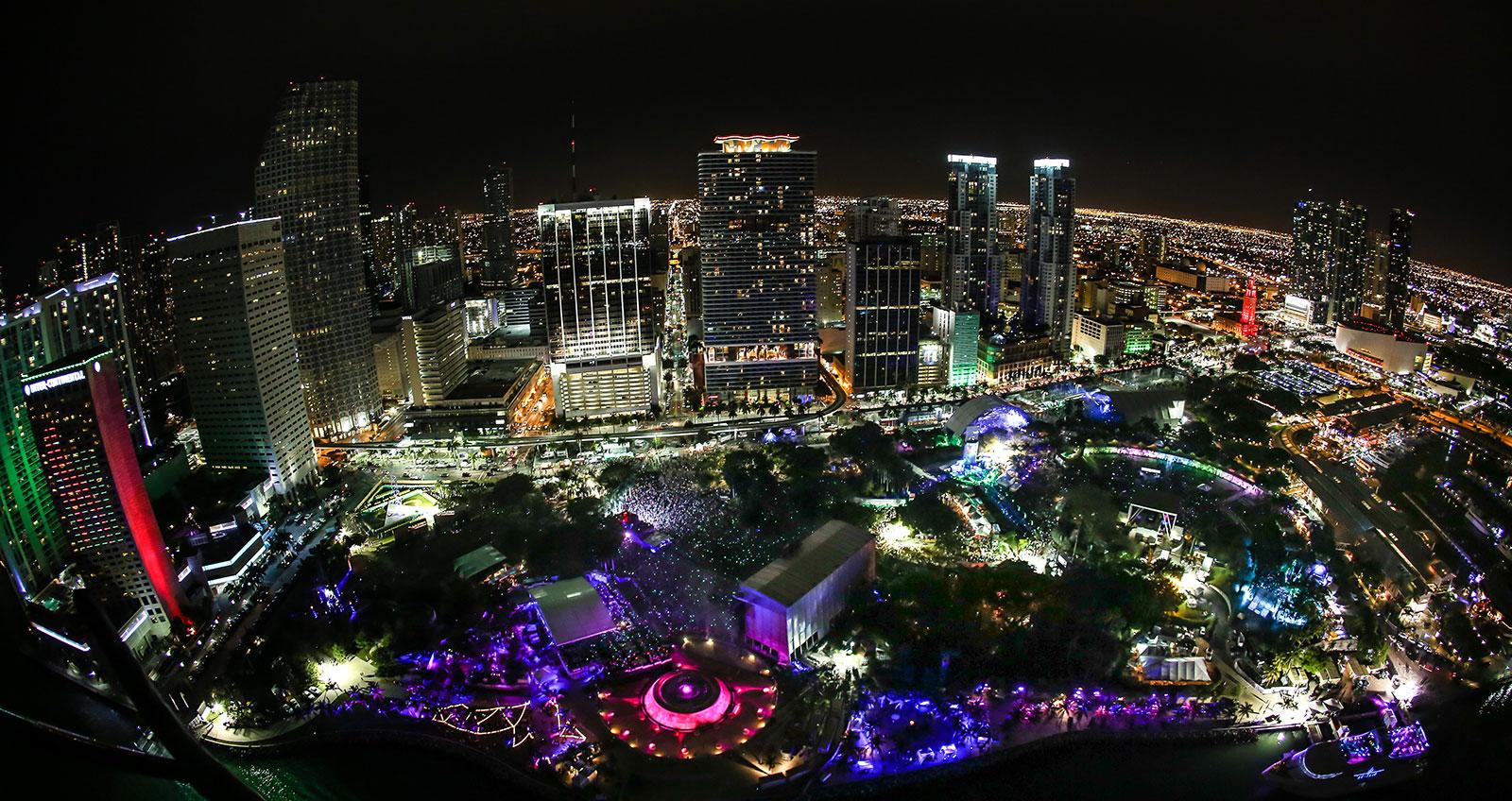 Ultra Music Festival Bayfront Park