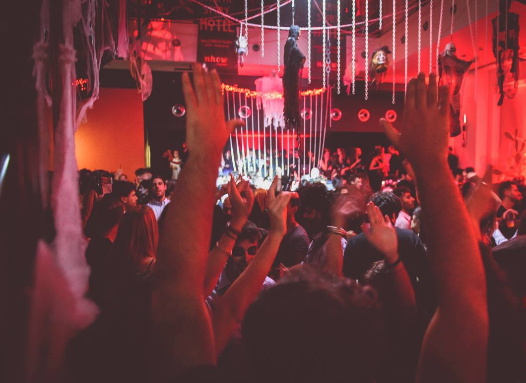 Halloween a Milano?! Evento Privato in Location Misteriosa nhow hotel festa party youparti nh