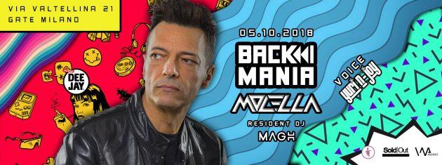 BACK MANIA presenta Molella | YOUparti gate milano