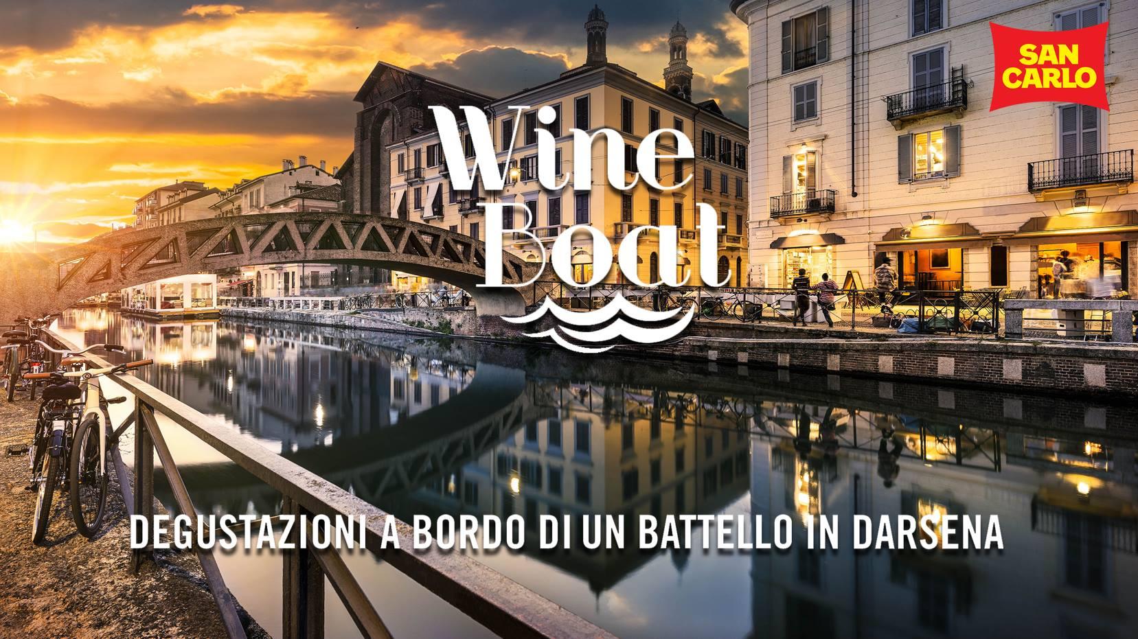 WINE BOAT   Degustazioni a Bordo di un Battello   YOUparti Alzaia Naviglio Grande 4 Milano