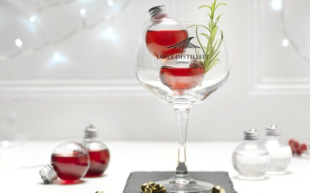 Palline Natale Gin
