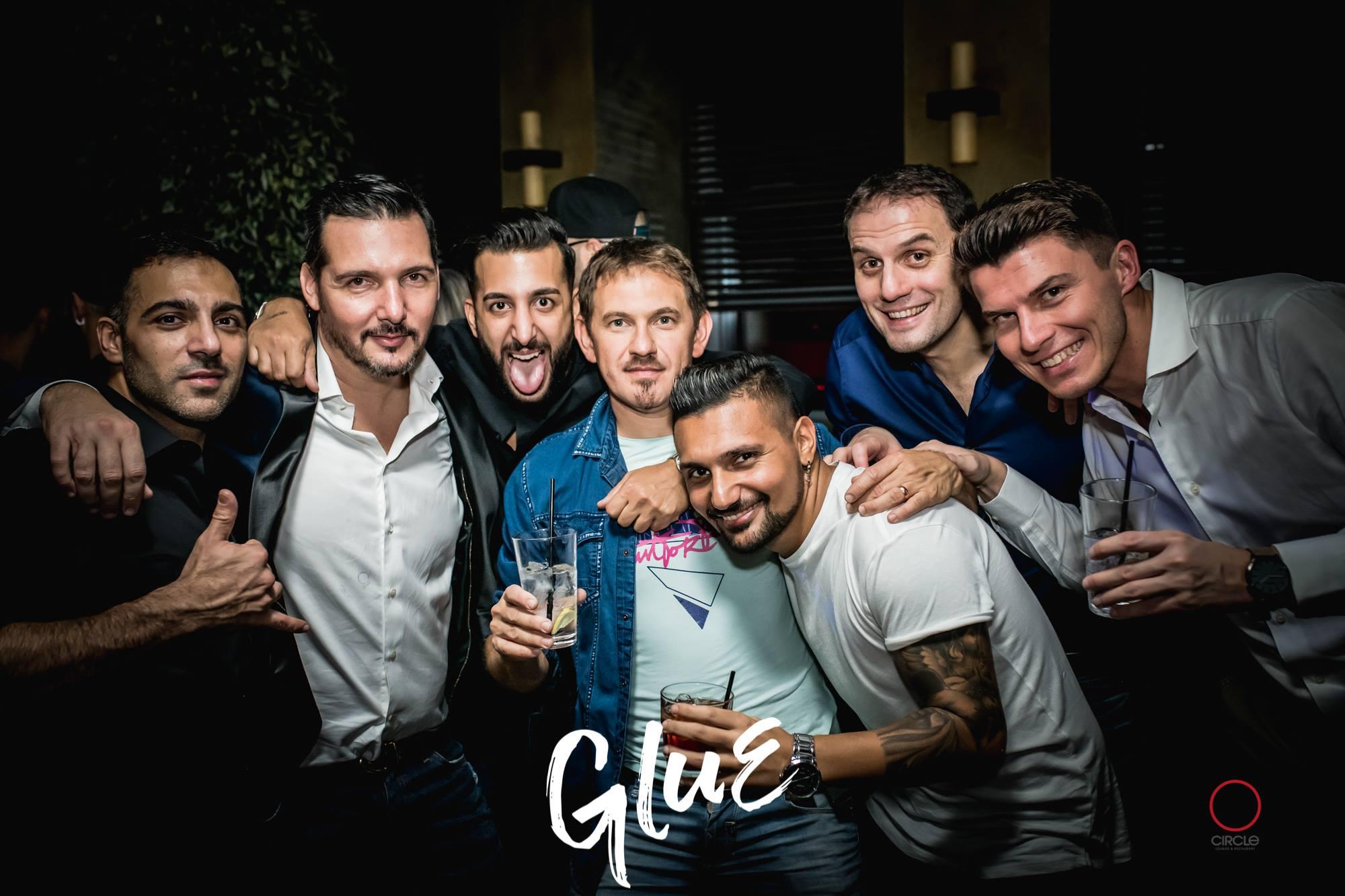 GLUE / Vannelli Bros & Dj Nora Bee   YOUparti circle friday free house club milano