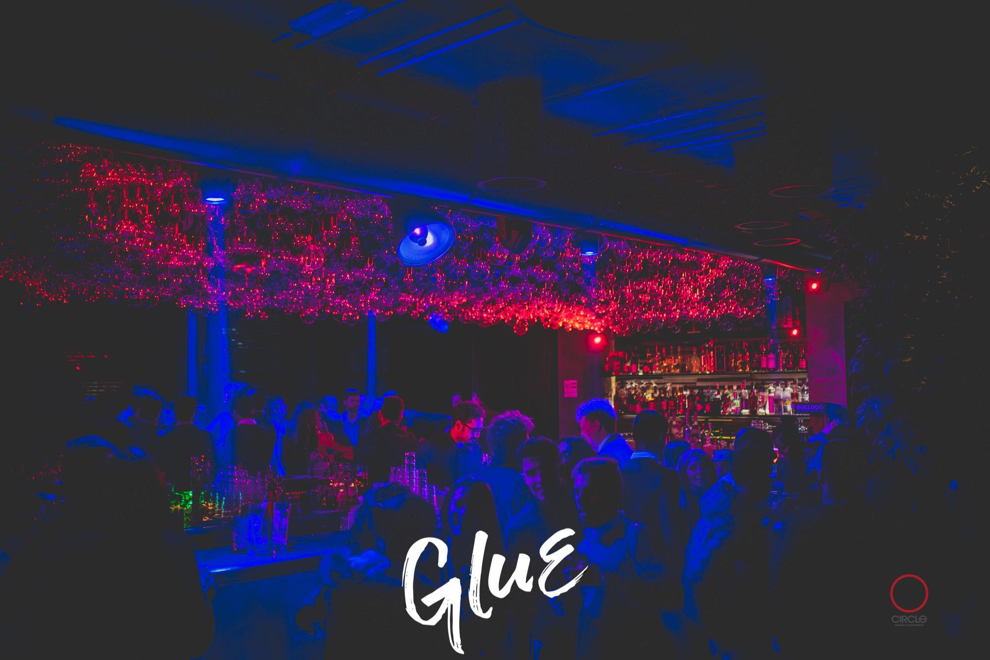 GLUE / Bee 2 Vee   YOUparti circle milano friday free club dj