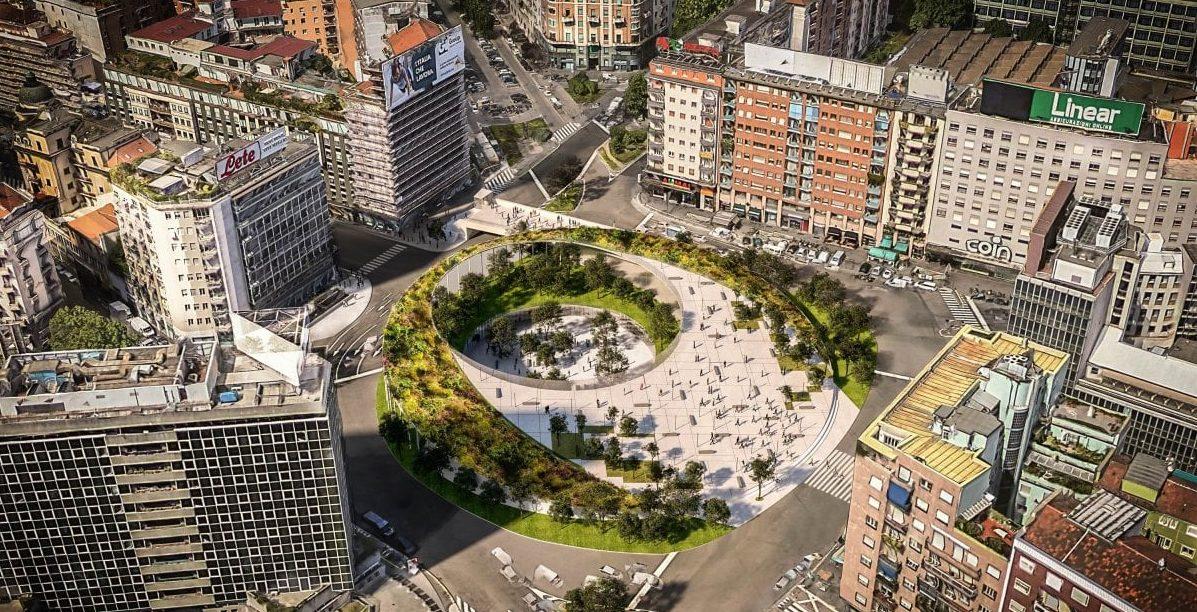Piazzale Loreto progetto di riqualificazione
