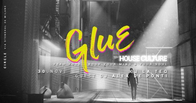 Glue / House Culture Alex De Ponti | YOUparti circle milano club friday free guest dj