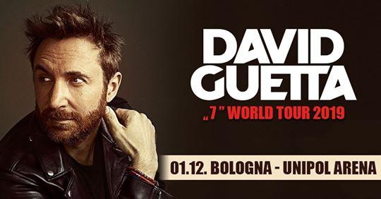 David Guetta a Bologna youparti unipol arena bologna
