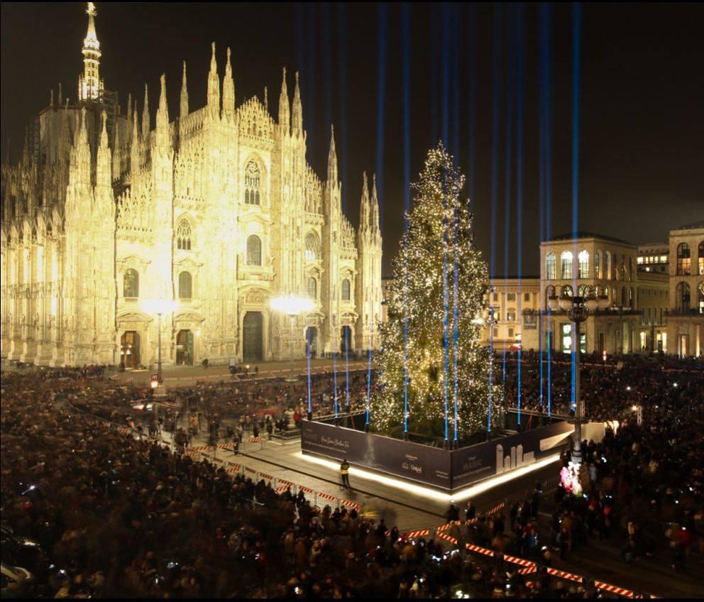 Albero di Natale a Milano