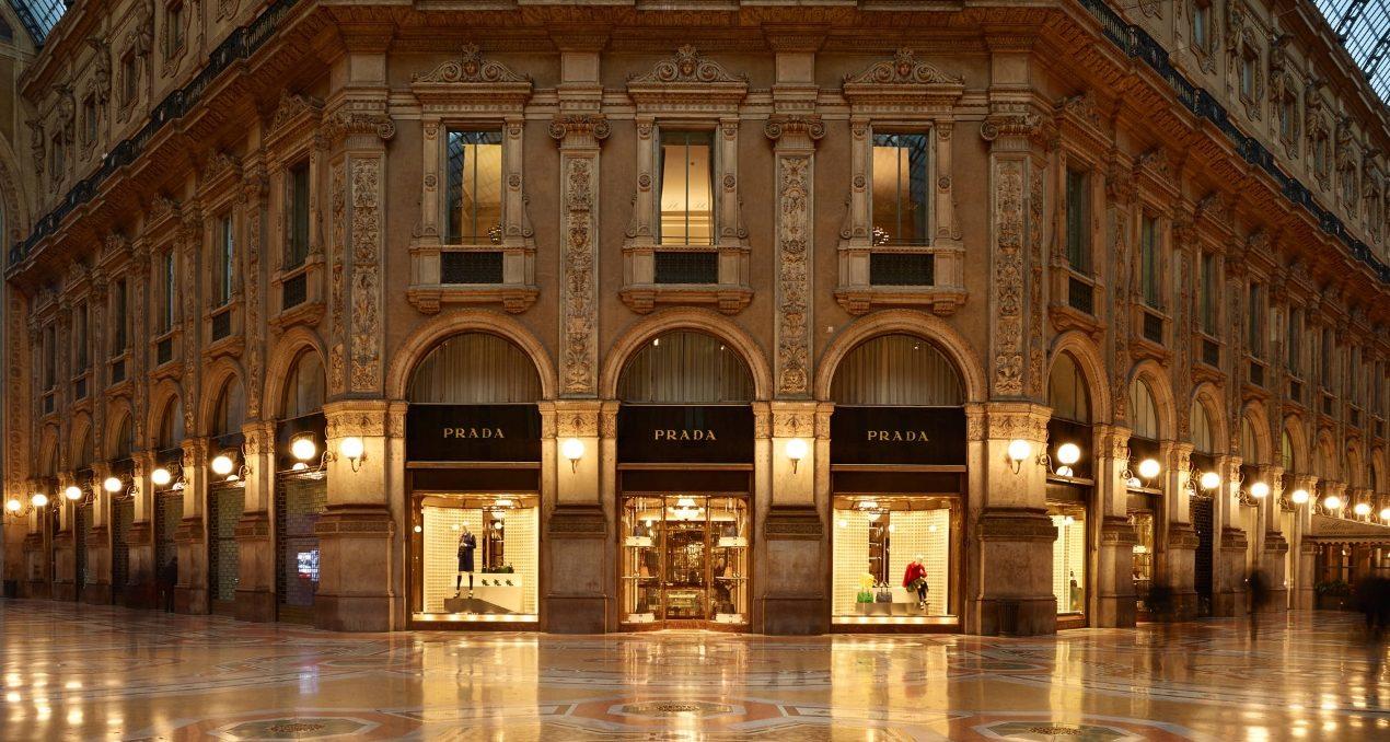 Prada Galleria Milano