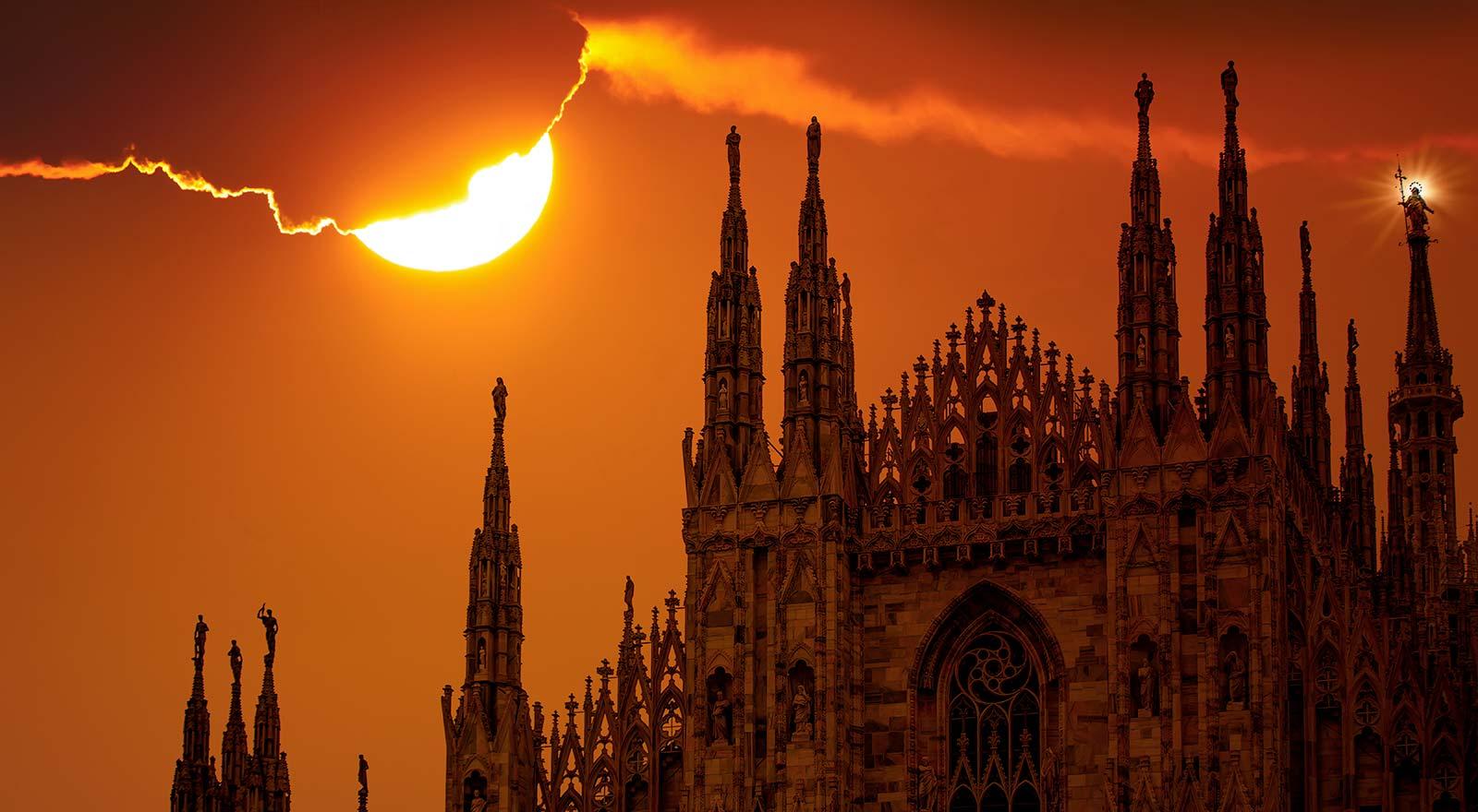 Milano caldo record 2018