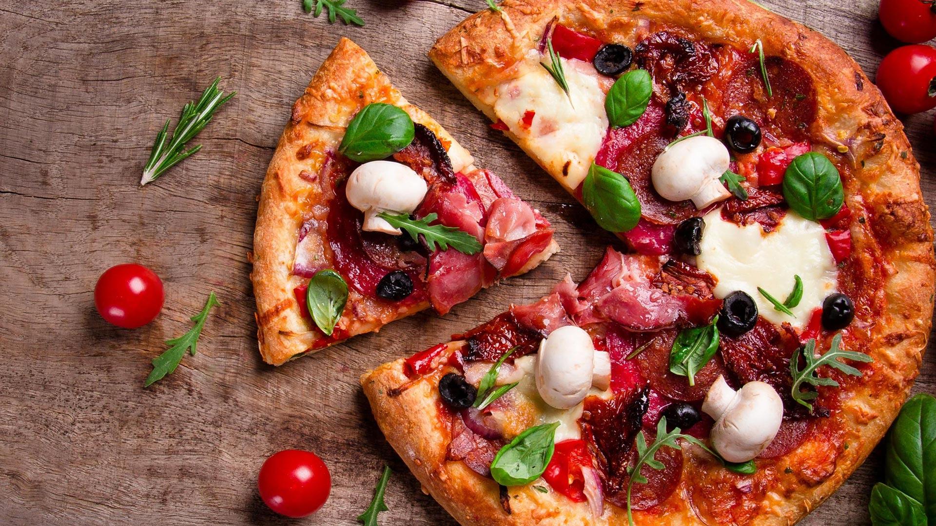 Mangiare la pizza ci manda in fattanza