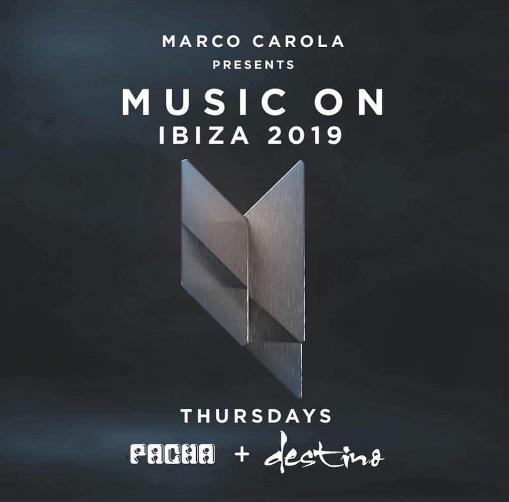 Marco Carola e Music On al Pacha Ibiza