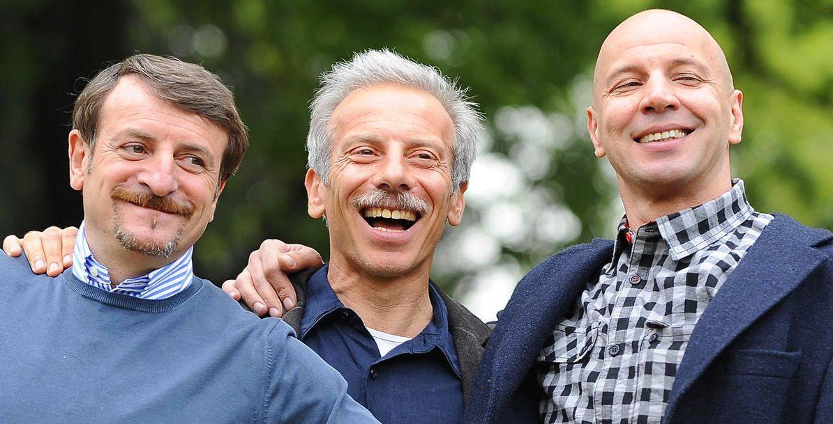 Aldo, Giovanni e Giacomo stanno per tornare al cinema