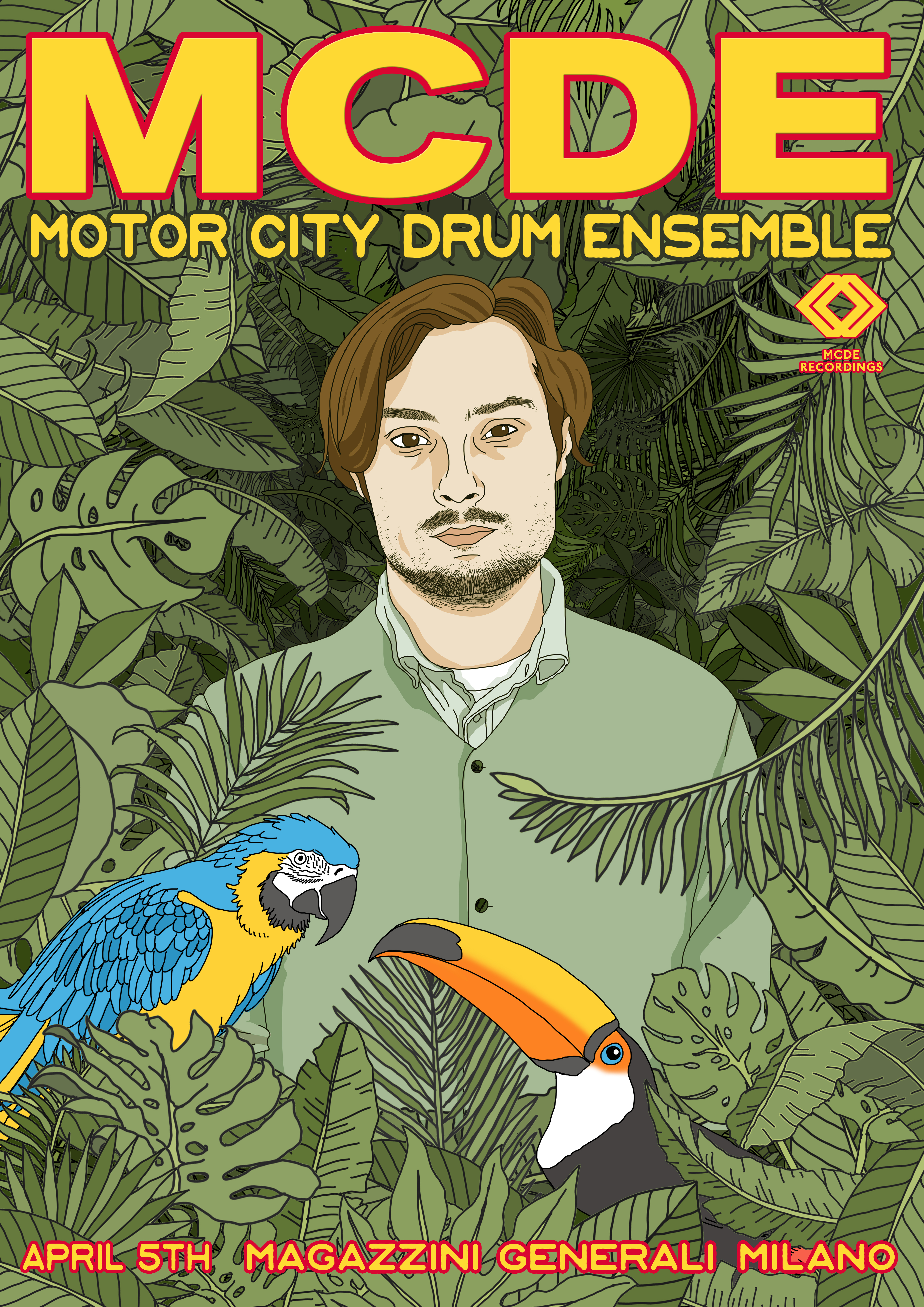 Motor City Drum Ensemble Arriva a Milano magazzini generali evento