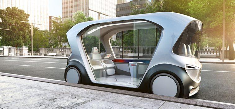 Auto elettriche senza conducente