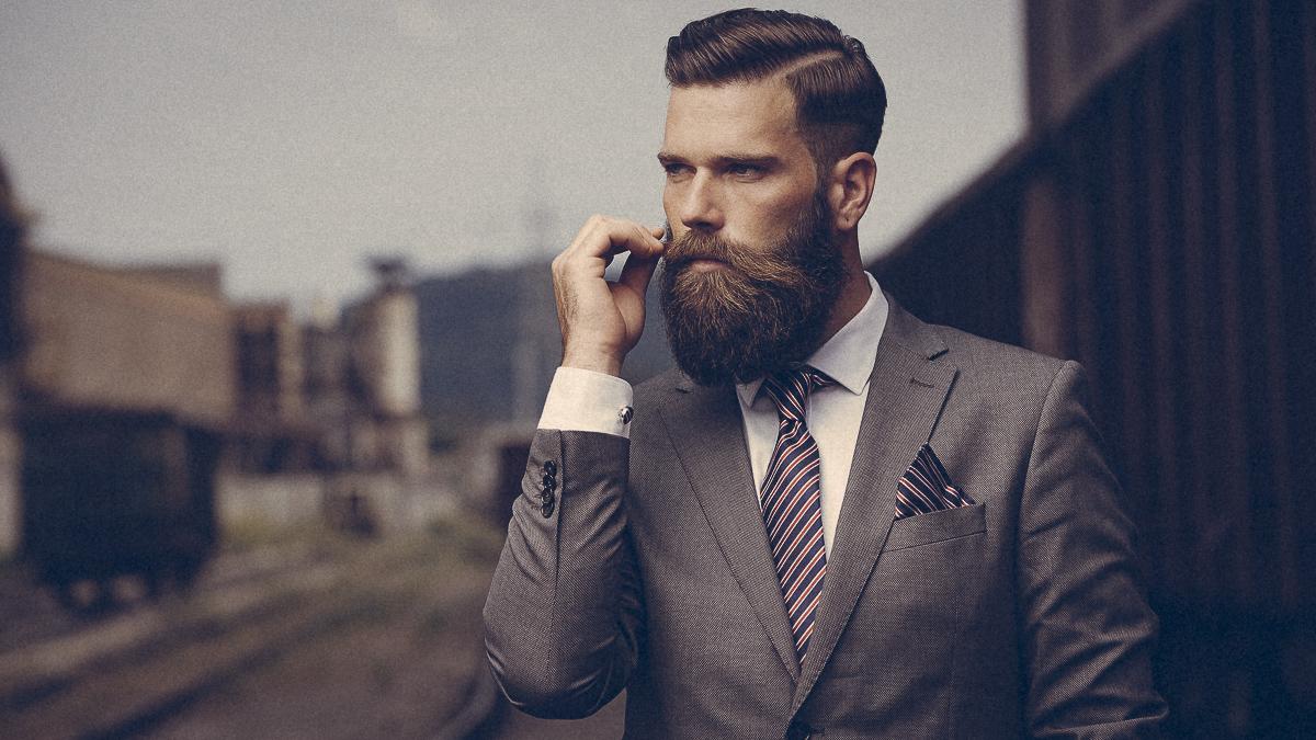 Barba lunga é più sporca dei peli di cane