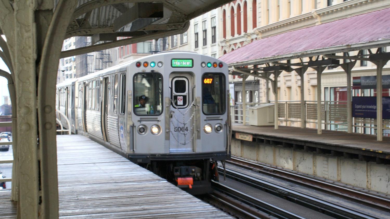 Console in una stazione di Chicago