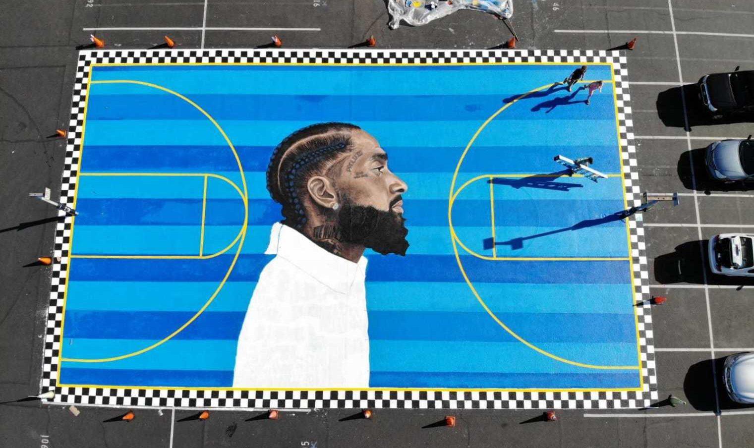 Nipsey Hussle murales
