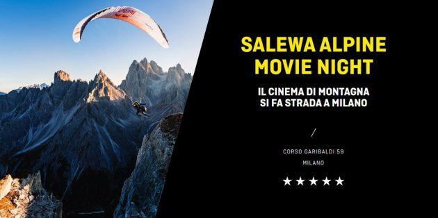 Salewa Alpine Movie Night tirolese store milano corso garibaldi youparti