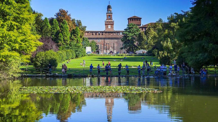 GUINNESS WORLD RECORDS – ORAL-B | YOUparti piazza del cannone milano castello sforzesco parco sempione