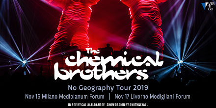 The Chimical Brothers YOUparti concerto Milano Forum assago mediolanum
