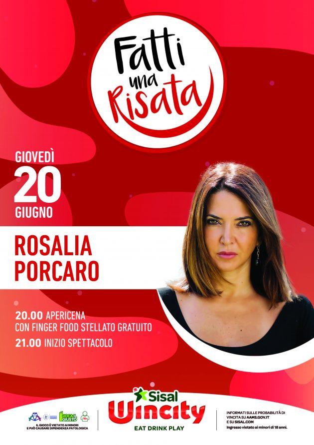 Fatti una risata con Rosalia Porcaro Wincity Piazza armando diaz milano