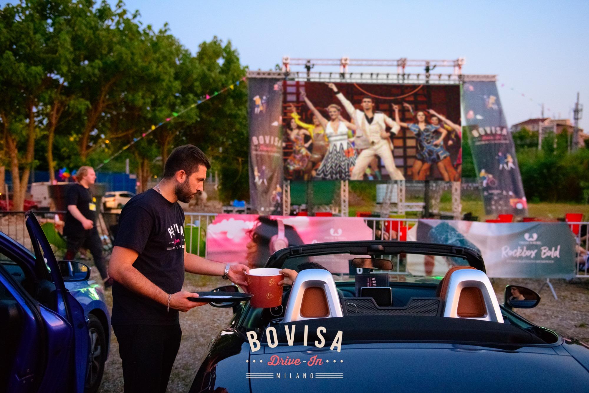 #4 Bovisa Drive-In next event 5-6-7 luglio cinema food truck bar attrazioni milano