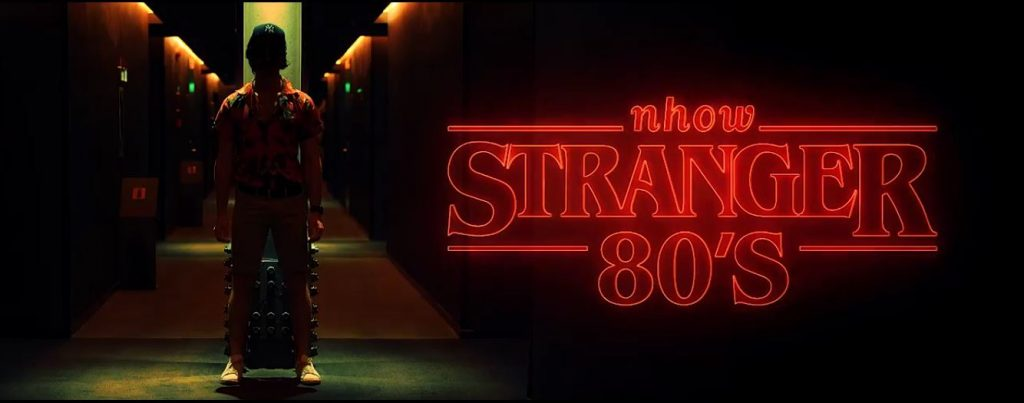 STRANGER 80's HALLOWEEN PRIVATE PARTY youparti nhow hotel milano tortona