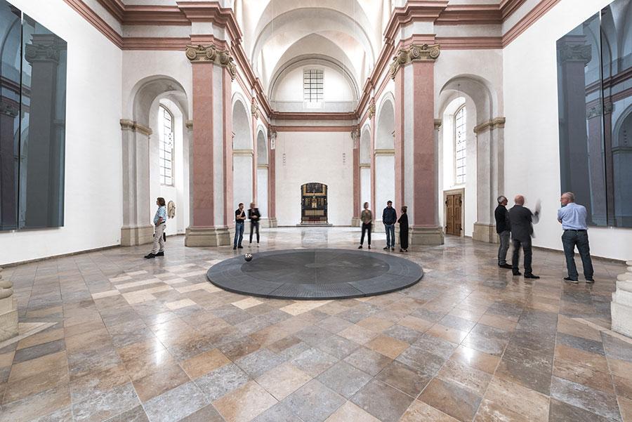 Pendolo Münster chiesa sconsacrata