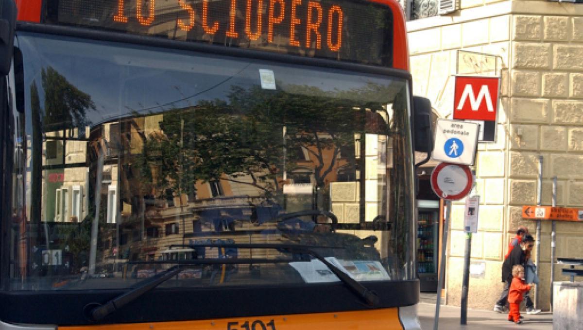 Sciopero a Milano il 24 luglio