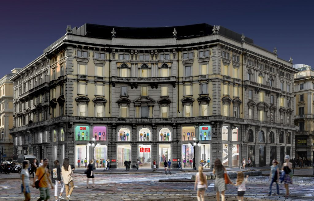 Uniqlo a Milano