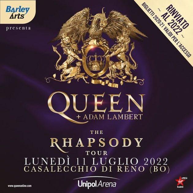 Queen + Adam Lambert: The Rhapsody Tour | Unipol Arena YOUparti