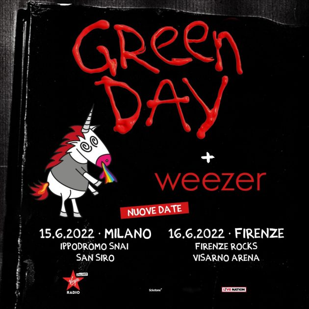 I Green Day a Milano YOUparti