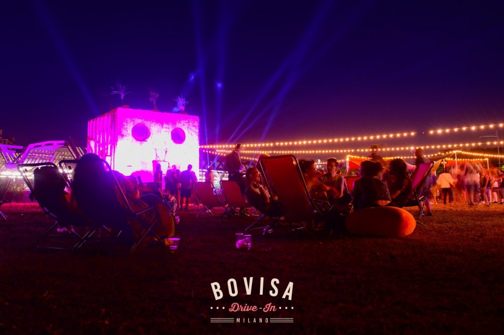 Bovisa Drive-In / DjSet, Street Food & Cinema \ Back to the 80's YOUparti Milano