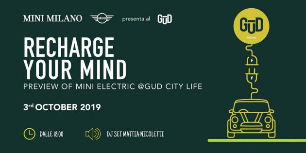 MINI Full Electric Preview at GUD City Life | Recharge your mind Youparti