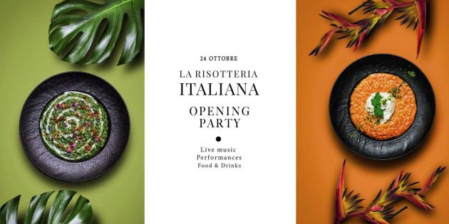 La Risotteria Italiana - Opening Party YOUparti sushi moscova milano