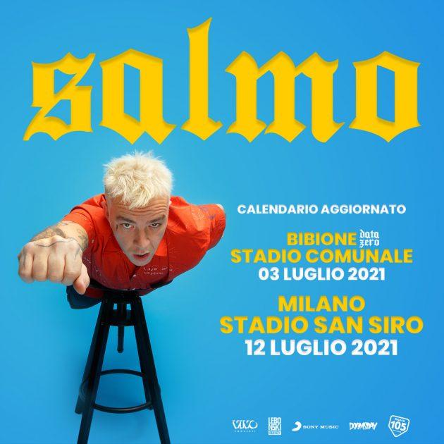 Salmo in concerto a Milano YOUparti Stadio San Siro