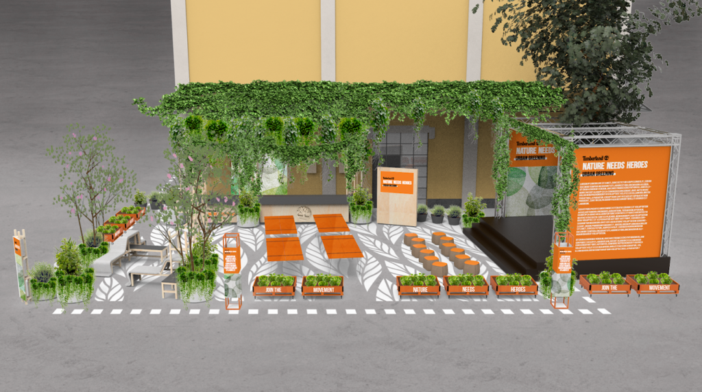 Urban Greening is Taking over Milan YOUparti base milano Timberland