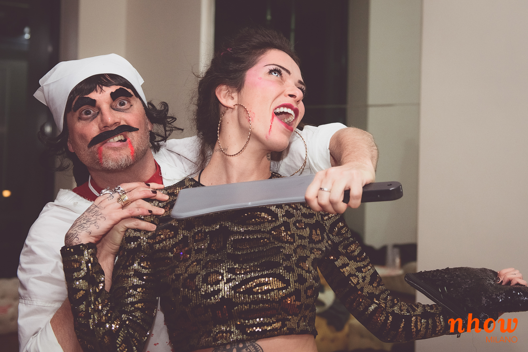 Stranger 80's Halloween Private Party Milan | YOUparti nhow hotel tortona milano