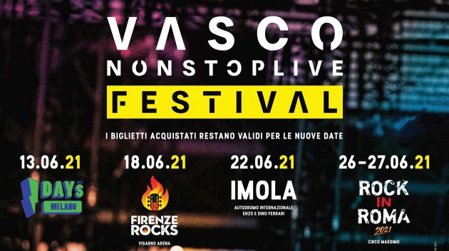 Vasco Rossi - Non stop live festival YOUparti I-Days 2020 - MIND Milano Innovation