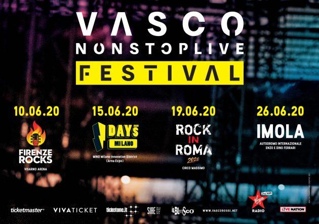 Vasco Rossi - Non stop live festival YOUparti I-Days 2020 - MIND Milano Innovation