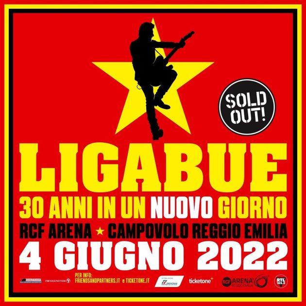 Ligabue - 30 anni in un giorno YOUparti Luciano Campovolo Reggio Emilia